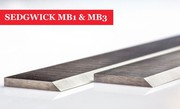 SEDGWICK MB1 & MB3 Planer Blades Knives 310mm - 1 Pair