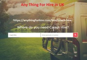 Coach hire,  Compare coach hire,  Coach hire London