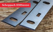 Scheppach HT 850 Planer Blade Knives 210mm - 1 Pair @ woodfordtooling