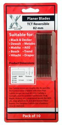 10 pcs. 82mmTCT Planer Blades For Black & Decker Online
